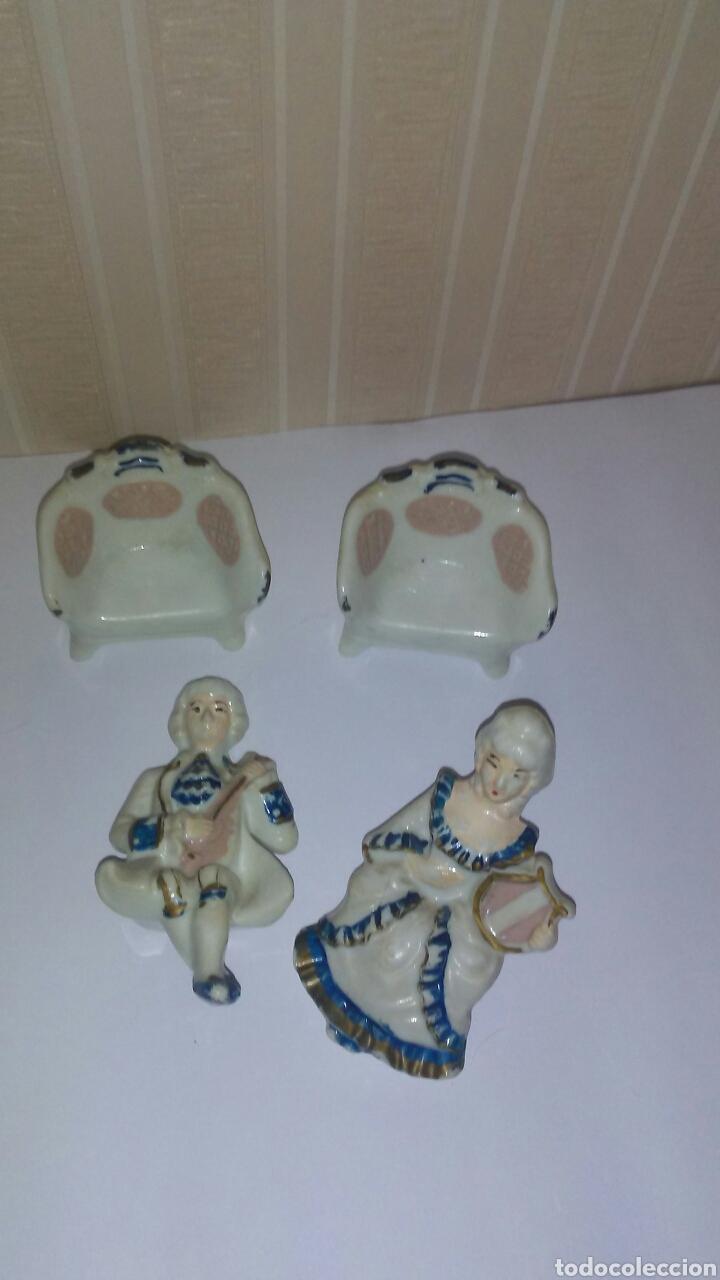 Muñeca española clasica: Lote de muñecos tipo princesas antiguas ,son de celuloide ,miden sobre 11 cent,años 60,desmontables - Foto 3 - 215619048