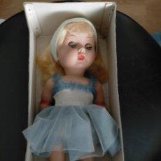 Muñeca española clasica: BONITA MUÑECA ÁNGELA O ÁNGELITA DE INDUSTRIA LEB CON SU CONJUNTO ORIGINAL AÑOS 50. Lote 217912617