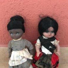 Muñeca española clasica: ANTIGUA LINDA PIRULA AMA DE CRIA DE COLOR NEGRA NEGRITA Y REGIONAL. Lote 218143426