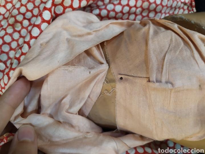 Muñeca española clasica: Preciosa muñeca composición y cartón piedra. Con inscripción en espalda. - Foto 12 - 218628800
