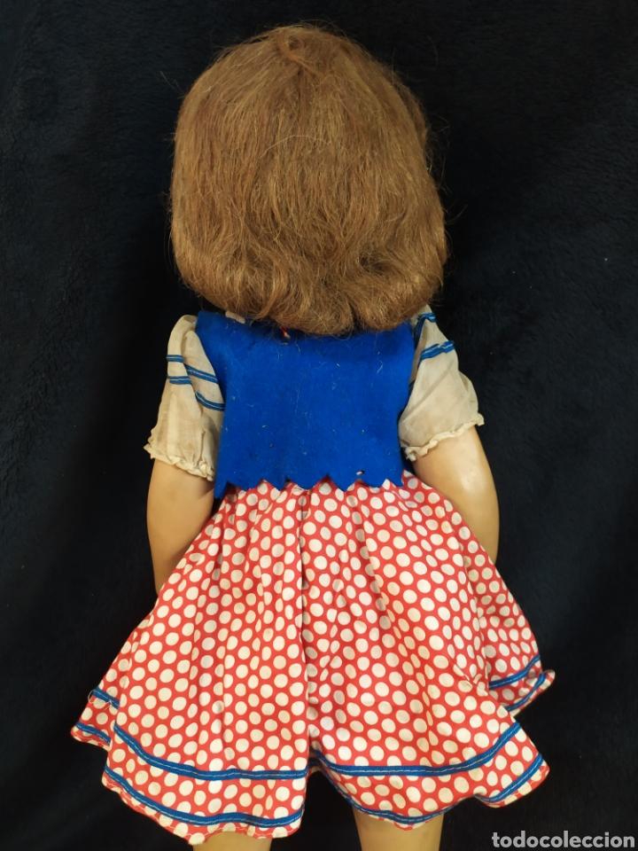 Muñeca española clasica: Preciosa muñeca composición y cartón piedra. Con inscripción en espalda. - Foto 15 - 218628800