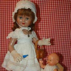 Muñeca española clasica: MARY CRIS DE FLORIDO AÑOS 40 CON CAMARA DE FOTOS. Lote 219287661