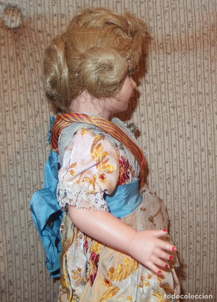 Muñeca española clasica: 2º MODELO DE CELIA DE FAMOSA,VESTIDA DE FALLERA VALENCIANA,FINALES AÑOS 50 - Foto 5 - 219834330