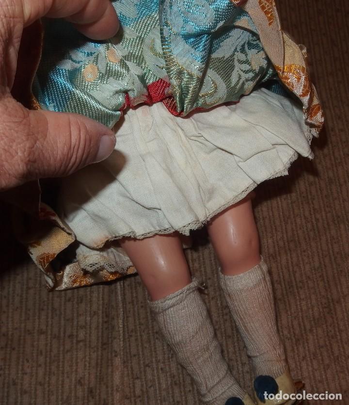 Muñeca española clasica: 2º MODELO DE CELIA DE FAMOSA,VESTIDA DE FALLERA VALENCIANA,FINALES AÑOS 50 - Foto 7 - 219834330