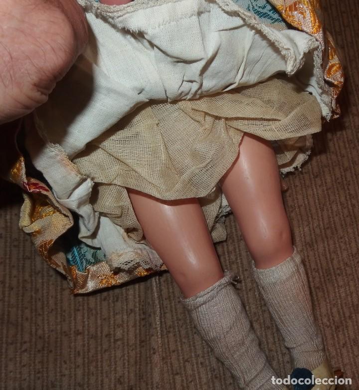 Muñeca española clasica: 2º MODELO DE CELIA DE FAMOSA,VESTIDA DE FALLERA VALENCIANA,FINALES AÑOS 50 - Foto 8 - 219834330