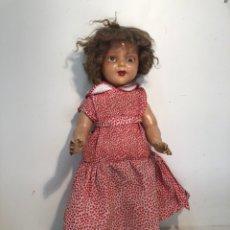 Muñeca española clasica: MUÑECA GRANDE DE CARTON PIEDRA ANTIGUA.. Lote 221233135