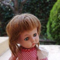 Muñeca española clasica: MUÑECA ANGELITA DE LEB PRECIOSA TODA DE ORIGEN. Lote 222229217