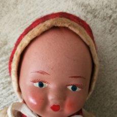 Muñeca española clasica: ANTIGUO MUÑECO DE TERRACOTA AÑOS 40. Lote 222268075