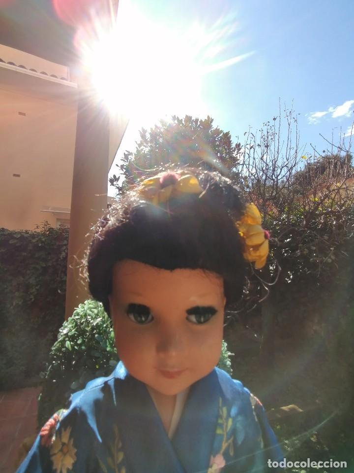 Muñeca española clasica: Muñeca Linda Geisha de industrias Alba con etiqueta - Foto 3 - 222317876