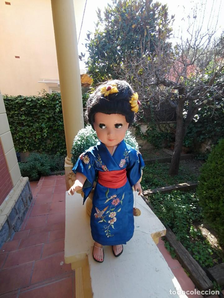 Muñeca española clasica: Muñeca Linda Geisha de industrias Alba con etiqueta - Foto 4 - 222317876