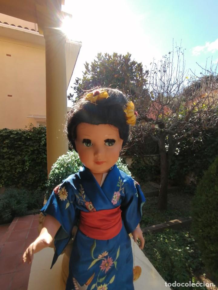 Muñeca española clasica: Muñeca Linda Geisha de industrias Alba con etiqueta - Foto 7 - 222317876