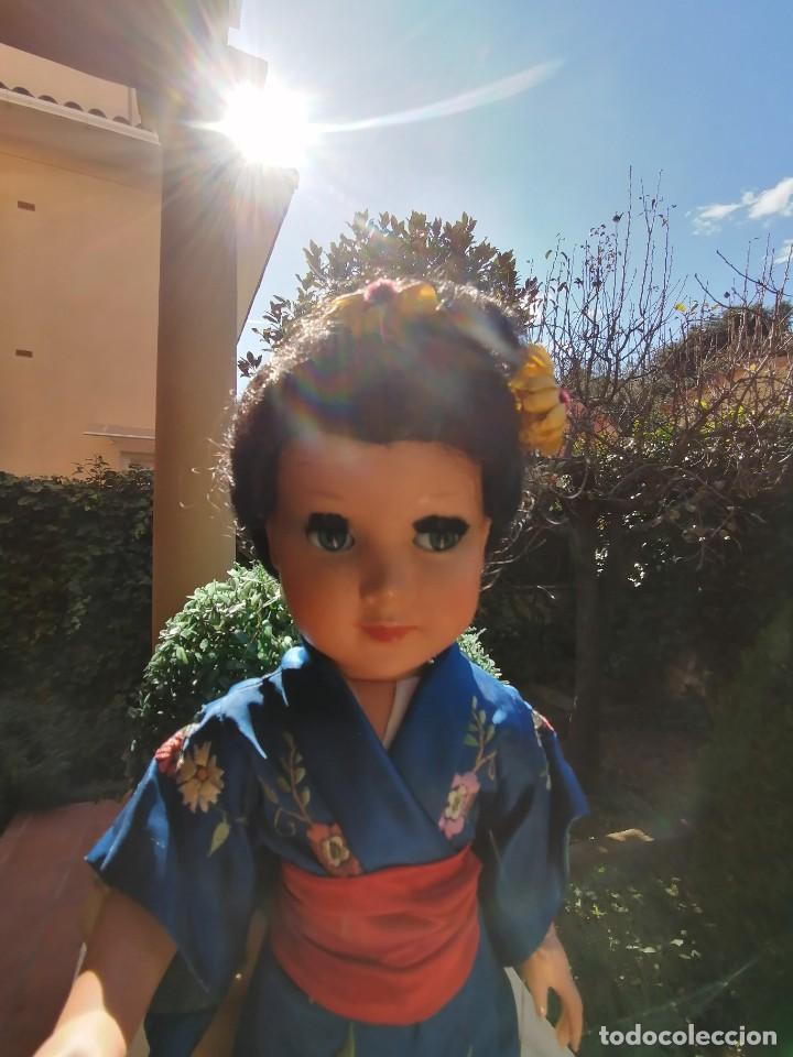 Muñeca española clasica: Muñeca Linda Geisha de industrias Alba con etiqueta - Foto 9 - 222317876