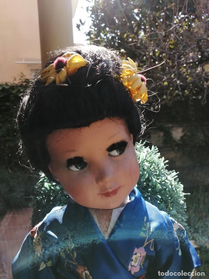 Muñeca española clasica: Muñeca Linda Geisha de industrias Alba con etiqueta - Foto 10 - 222317876