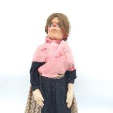 Muñeca española clasica: MUÑECA TRAPO ANTIGUA CON TRAJE TÍPICO ( 44CM ALTO ). Lote 222323075
