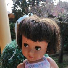 Muñeca española clasica: MUÑECA LINDA CARLA DE MUÑECAS ALBA 1950 TODA DE ORIGEN. Lote 222442472