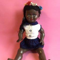 Muñeca española clasica: PEQUEÑA MUÑECA HAWAIANA DE CELULOIDE. Lote 222463696
