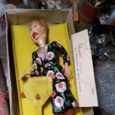 Muñeca española clasica: ESTEREOPLAST MARIONETA TÍA CRISTINA. LAS MARIONETAS DE HERTA FRANKEL. Lote 222687192