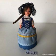Muñeca española clasica: MUÑECA REGIONAL. Lote 223413747
