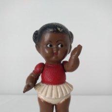 Muñeca española clasica: MUÑECA SONAJERO AGUSTÍN PARRA, AÑOS 40.. Lote 223787563