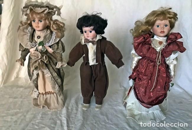 Muñeca española clasica: LOTE TRES MUÑECAS CLASICAS - Foto 2 - 224309616