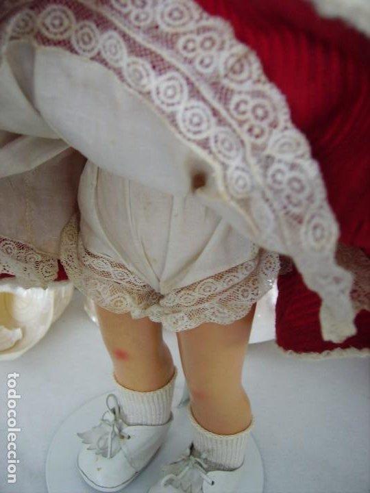 Muñeca española clasica: Muy bonita y antigua muñeca española años 40, cartón piedra, - Foto 2 - 225292277