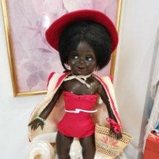 Muñeca española clasica: TERESIN, MUÑECA ESPAÑOLA DE CELULOIDE, AÑOS 50, PREPARADA PARA IR A LA PLAYA. MARCADA. Lote 225569861