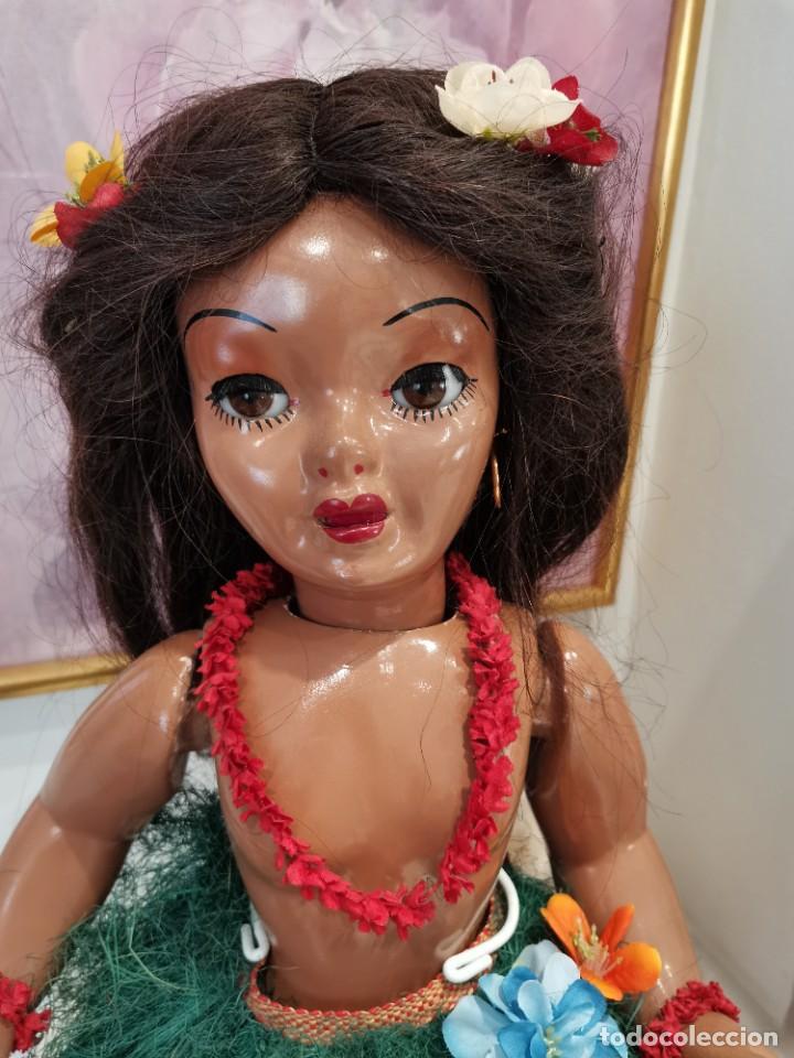Muñeca española clasica: Preciosa muñeca española TA-NAY, años 40, composición - Foto 3 - 225577150
