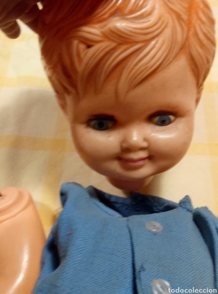 Muñeca española clasica: Lote dos muñecos años 50 / 60 para restaurar - Foto 17 - 226666040