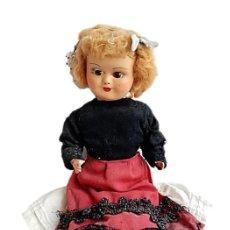 Muñeca española clasica: MUÑECA ESPAÑOLA S XIX CARTON PIEDRA PELO MOHAIR OJOS CRISTAL. Lote 227826135