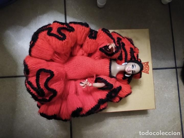 Muñeca española clasica: Preciosa muñeca flamenca o sevillana con fantástico traje artesanal volantes - Foto 13 - 230653865