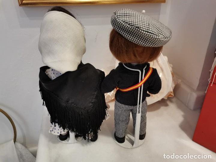 Muñeca española clasica: LINDA PIRULA, muñecas españolas años 60. Preciosa pareja de chulapos madrileños - Foto 2 - 234910850