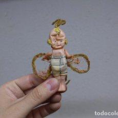 Muñeca española clasica: ANTIGUA MUÑECA PEQUEÑA DE CELULOIDE. Lote 236459760