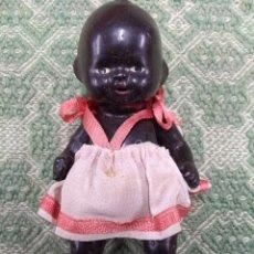 Muñeca española clasica: ANTIGUA Y PRECIOSA MUÑECA NEGRITA, AÑOS 1930-40. Lote 236539920