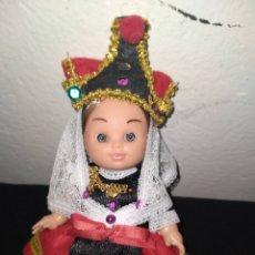 Muñeca española clasica: VINTAGE MUÑECA, 20 CM CON ROPA ORIGINAL Y CON ALTA CALIDAD. Lote 237152915