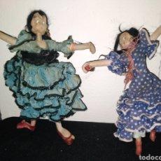 Muñeca española clasica: 2 MUÑECAS LAYNA MADE IN SPAIN. Lote 237156625
