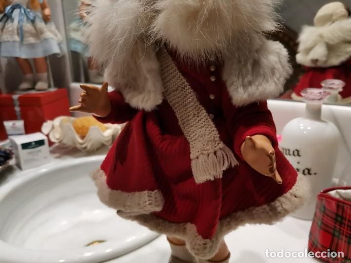 Muñeca española clasica: Muy bonita y antigua muñeca española años 40, cartón piedra, - Foto 5 - 225292277