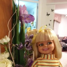 Muñeca española clasica: MUÑECA JIJI DE ICSA, GIGGLES ESPAÑOLA. Lote 238123055