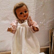 Boneca espanhola clássica: ANTIGUA MUÑECA DE CARTÓN PIEDRA EN MUY BUEN ESTADO. Lote 238214105