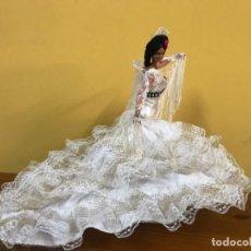 Muñeca española clasica: ANTIGUA MUÑECA SEVILLANA DE MARÍN CHICLANA 30CM EN SU CAJA ORIGINAL. Lote 240358705