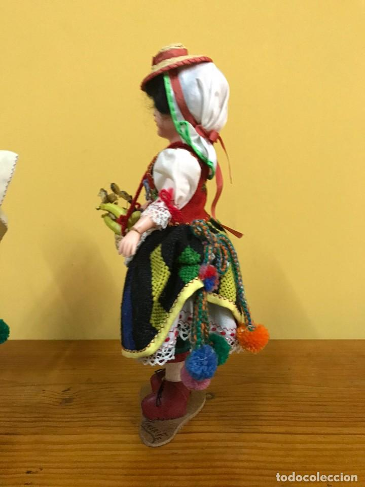 Muñeca española clasica: BONITA PAREJA MUÑECOS TENERIFE AÑOS 50 - Foto 6 - 240926820