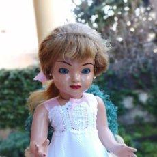Muñeca española clasica: MUÑECA SISI DE PEDRO GROS AÑOS 50 CARTÓN PIEDRA. Lote 241164615
