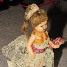 Muñeca española clasica: MUÑECO MUÑECA PEQUEÑO ARTICULADO OJOS DURMIENTES AÑOS 50/60. Lote 241546055