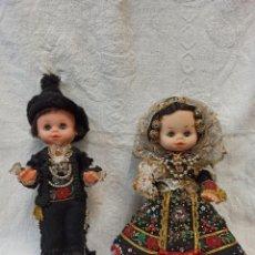 Muñeca española clasica: PAREJA DE MUÑECOS CHARROS. TRAJES TÍPICOS DE SALAMANCA. C13. Lote 244006060
