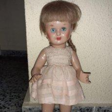 Muñeca española clasica: MUÑECA MARI PILI O MARI CRIS? AÑOS 40/50 CARTON PIEDRA EPOCA MARIQUITA PEREZ. Lote 244611585