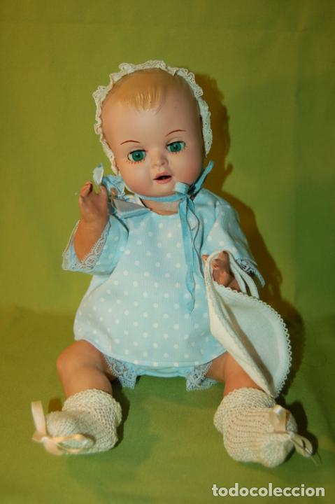 Muñeca española clasica: bebé de cartón y celuloide - Foto 2 - 245524600