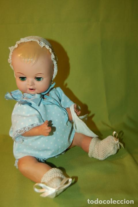 Muñeca española clasica: bebé de cartón y celuloide - Foto 3 - 245524600