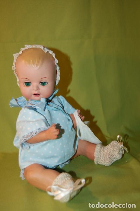 Muñeca española clasica: bebé de cartón y celuloide - Foto 7 - 245524600