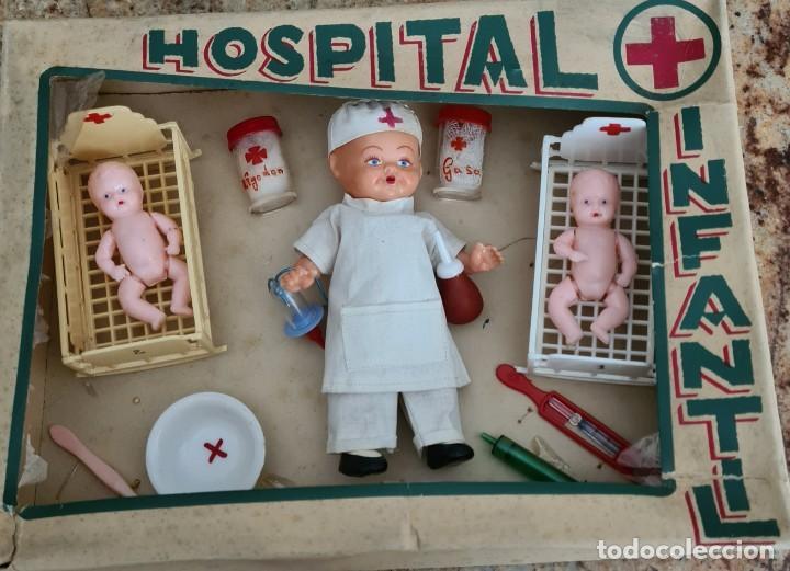 HOSPITAL INFANTIL 30 X 22 X 7 CM (Juguetes - Otras Muñecas Españolas Clásicas (Hasta 1.960))