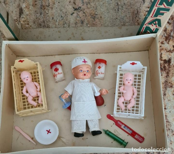 Muñeca española clasica: HOSPITAL INFANTIL 30 X 22 X 7 CM - Foto 2 - 247289335