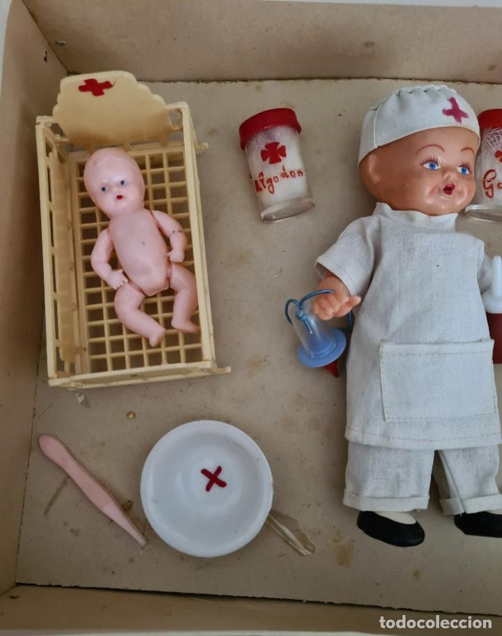 Muñeca española clasica: HOSPITAL INFANTIL 30 X 22 X 7 CM - Foto 3 - 247289335